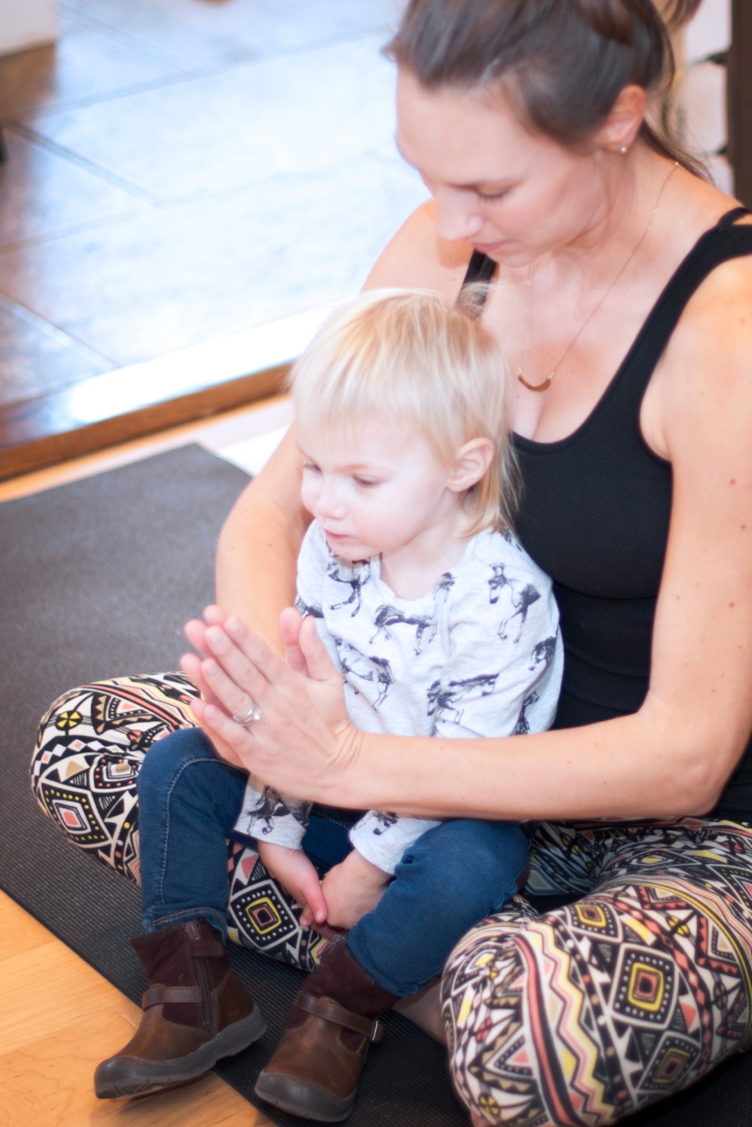 New Mama mindfulness meditation