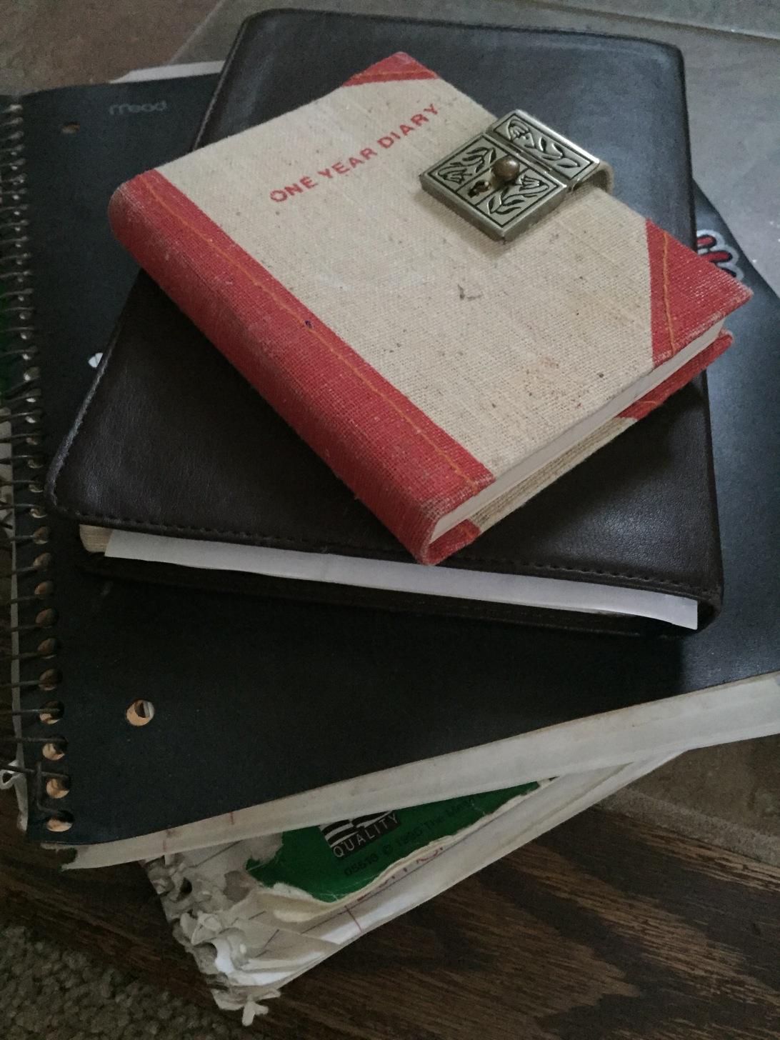 journal, free write, writing, self reflection, new mama wellness